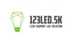 123LED.sk logo